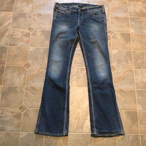 Silver Frances Jeans